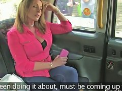British Babe Flashing Huge Tits In Fake Taxi Porn Videos