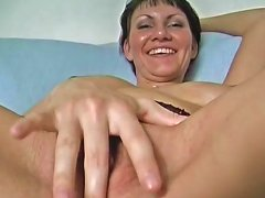 Amazing Body French Milf Plays With A Rolling Pin Porn 37