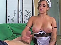 Maid Needs To Get Her Hands On His Dick Nuvid
