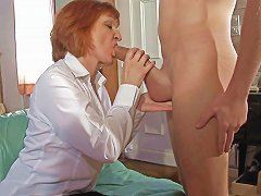 Mature Milf Loves To Ride Young Cock