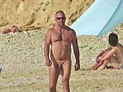 Beach Dad Big Cock