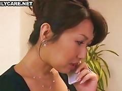 Mature Asian Threesome