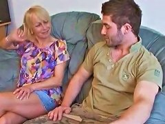 Lucky Guy Fucks His Girlfriends Mature Mother Free Porn 4a