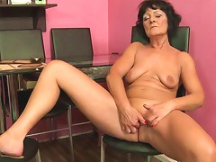 Naked Granny With A Tasty Body Fingers Solo