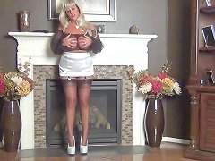 Samantha Sucks Cock Thru A Nylon Stocking Free Hd Porn 84
