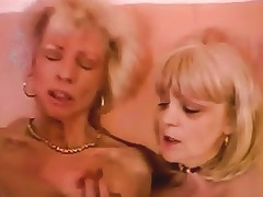 French Mature N56 Two Blonde Lesbian Moms Free Porn 85