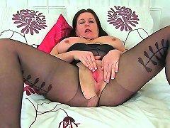 British Milf Louise Bassett's Pussy Needs A Good
