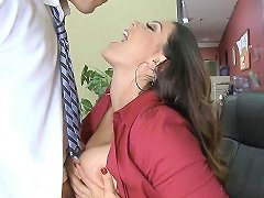Big Tit Milf Boss Gets Titty Fucked At Work Free Porn 79